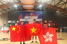 Vietnam win three golds at Shuttlecock World Championships 2019