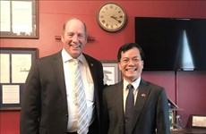 Vietnamese ambassador, US congressman discuss cooperation spheres