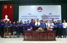 Vietnamese, Lao youths enhance cooperation