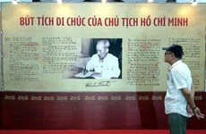 Exhibition features 50 years of implementing President Ho Chi Minh's testament