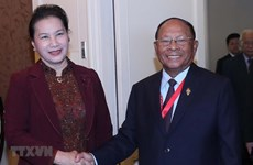 Vietnamese, Cambodian NA leaders meet on sidelines of AIPA 40