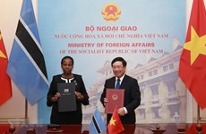 Deputy PM, Botswana Foreign Minister hold talks