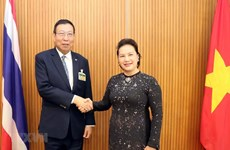 NA Chairwoman meets Speaker of Thai Senate in Bangkok