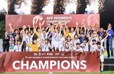Vietnam comes to the throne at AFF Women's Championship