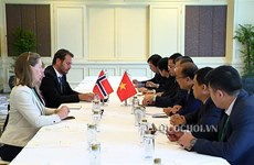 Vietnamese, Norwegian parliamentarians talk bilateral ties