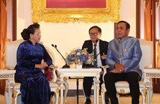 Vietnam's top legislator meets with Thai Prime Minister
