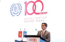Centenary of International Labour Organisation marked in Hanoi