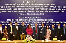 Vietnam, UK step up cooperation in administrative reform