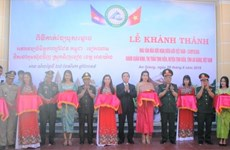 Vietnam-Cambodia border friendship cultural house inaugurated