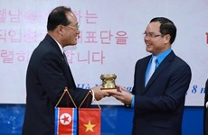Vietnamese, DPRK trade unions boost collaboration