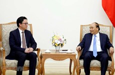 PM hosts outgoing Cambodian Ambassador