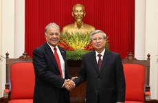 Mexican Labour Party delegation visits Vietnam