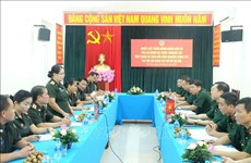 Vietnamese, Lao military courts step up experience exchange