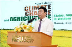 Workshop discusses climate change in Vietnam, Taiwan