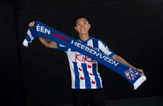 Vietnamese footballer signs contract with SC Heerenveen