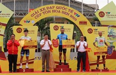 Colombian cyclist wins third stage of int'l tournament