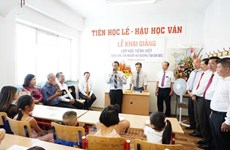 Free Vietnamese course held for children in Czech Republic
