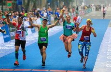 1,000 foreign athletes register for VPBank Hanoi Marathon