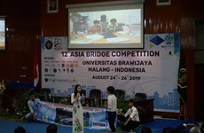 Can Tho University finishes fourth at 2019 Asia Bridge Competition