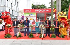 Vietjet opens check-in service in HCM City downtown