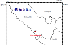 Dien Bien reports 8th earthquake in 2019