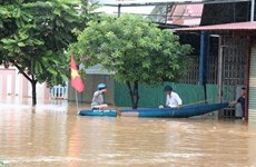 Torrential rains leave four dead, eight missing in central region