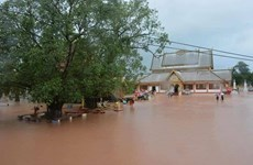 Leaders extend sympathies to Laos over losses by devastating floods