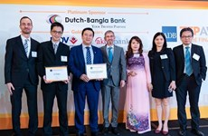HDBank receives green finance award
