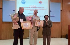 US's Veterans for Peace honoured with friendship union's certificate of merit