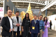 Vietnam's handicraft products popular at London int'l fair