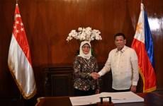 Philippines, Singapore reinforce defence, economic relations