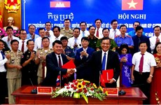 Kien Giang strengthens cooperation with Cambodian province
