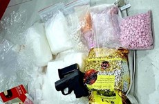 HCM City: Police bust ring trafficking drugs from Cambodia