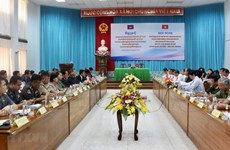 An Giang, Cambodia's Kandal province foster comprehensive partnership