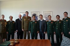 Vietnam, Australia step up defence cooperation