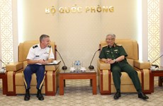 Deputy defence minister welcomes new US defence attaché