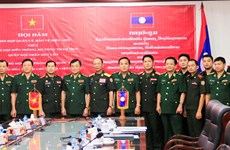 Vietnam, Laos to step up cooperation in border safeguarding