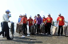"Vietnam responds to ""Clean up the world"" campaign"
