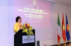 Vietnam, Italy to boost ties within UN framework