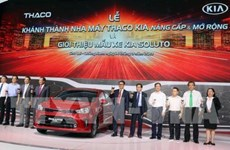 Car maker Thaco steps up production