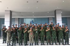 Vietnam joins drill on peacekeeping, mine action in Indonesia