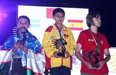 Vietnam finishes first at World Rapid & Blitz Chess Championships
