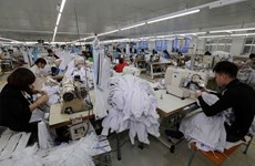 Vietnam's textile export value up almost 7 pct in eight months