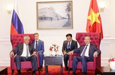 Vietnam, Russia promote collaboration in crime combat