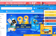 Vietnamese companies among ten most visited e-commerce sites in SEA