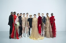 Vietnamese designer presents new collection in London