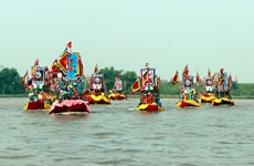 Con Son – Kiep Bac Autumn Festival attracts crowds of participants