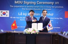 Korean group supports smart city development in Hung Yen