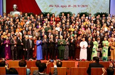 Vietnam Fatherland Front wraps up 9th national congress