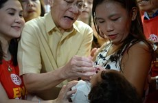 Philippines begins polio vaccination campaign